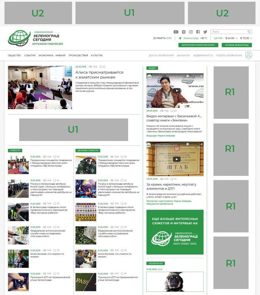 Реклама сайта в интернете Улица Чернышевского (город Зеленоград) создание сайта Новочебоксарск